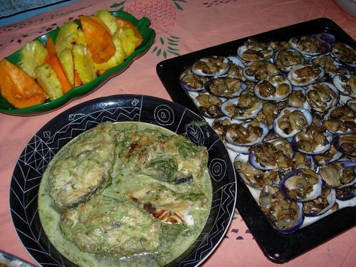 サバイラ邸での晩餐